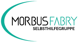 MORBUS FABRY SELBSTHILFE Logo